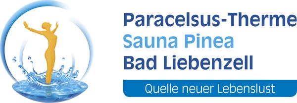 Farbiges Logo von Paracelsus-Therme in der Nähe von Stuttgart, Ludwigsburg, Pforzheim & Böblingen