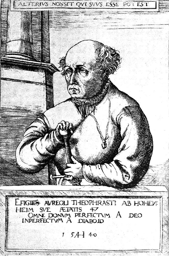 Mittelalterliches Bild eines Mannes