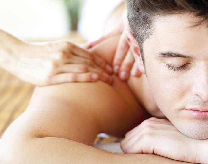 Aroma-Relax-Rückenmassage